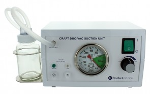 Rocket Craft™ DUO-VAC Suction Pump 110V/60Hz